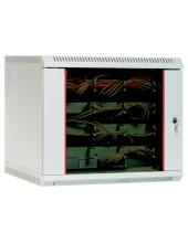 Шкаф телекоммуникационный настенный 12U (600х650) дверь стекло
