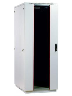 Шкаф телекоммуникационный напольный 38U (800x1000) дверь стекло