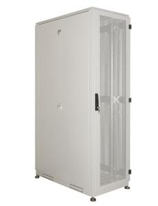 Шкаф серверный напольный 33U (600x1000) дверь перфорированная 2 шт.