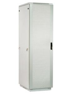 Шкаф телекоммуникационный напольный 33U (600x600) дверь перфорированная