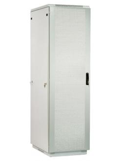 Шкаф телекоммуникационный напольный 38U (600x1000) дверь перфорированная 2 шт.