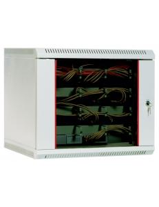 Шкаф телекоммуникационный настенный 12U (600х300) дверь стекло